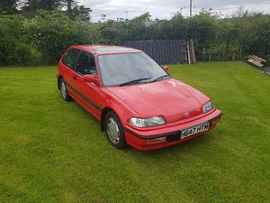 1991 Civic 1.6i Twin cam For Sale