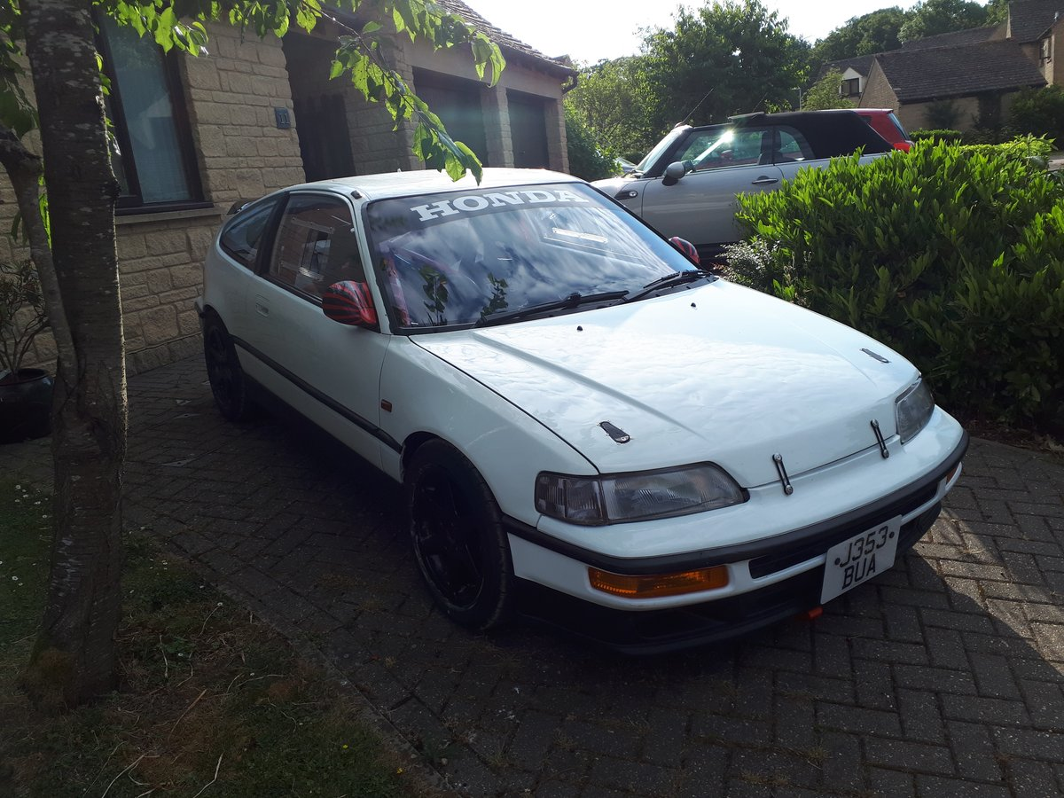 1990 Honda K20a Powered CRX For Sale (picture 1 of 6)