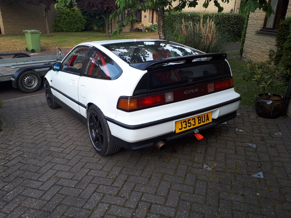 1990 Honda K20a Powered CRX For Sale (picture 2 of 6)