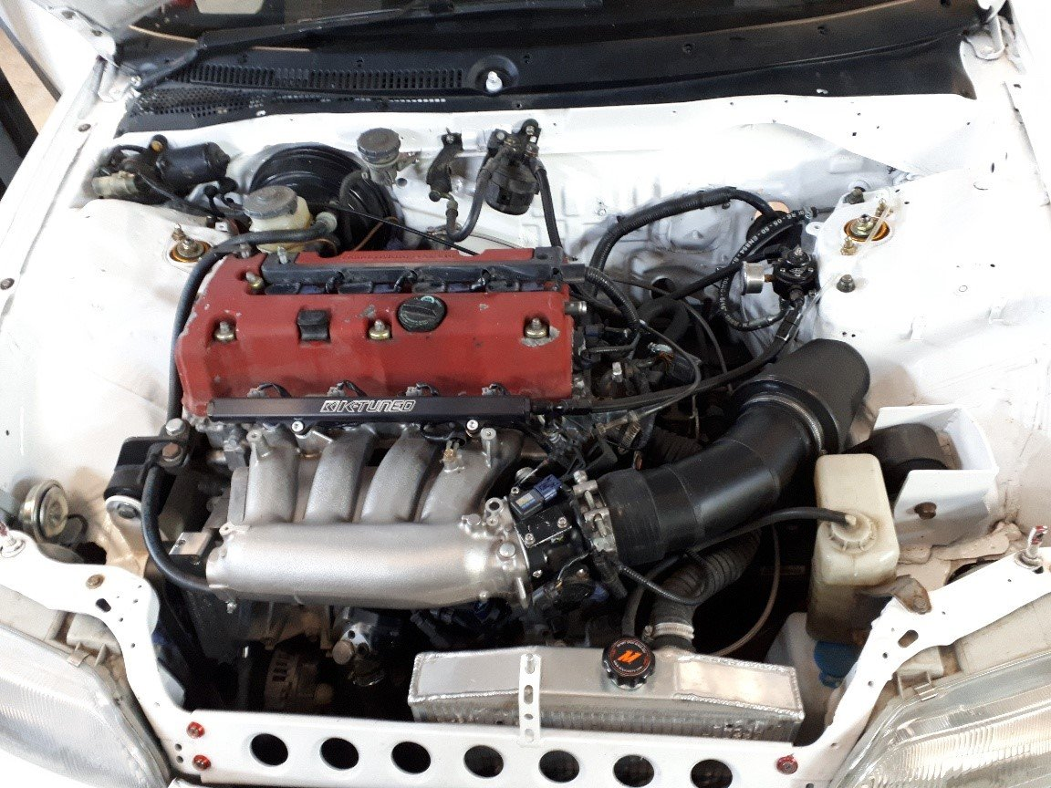 1990 Honda K20a Powered CRX For Sale (picture 5 of 6)