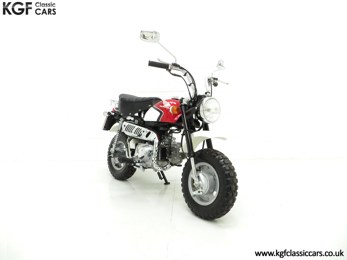 2004 Captain Slow AKA James May's Honda Z50 Monkey Bike For Sale (picture 1 of 6)
