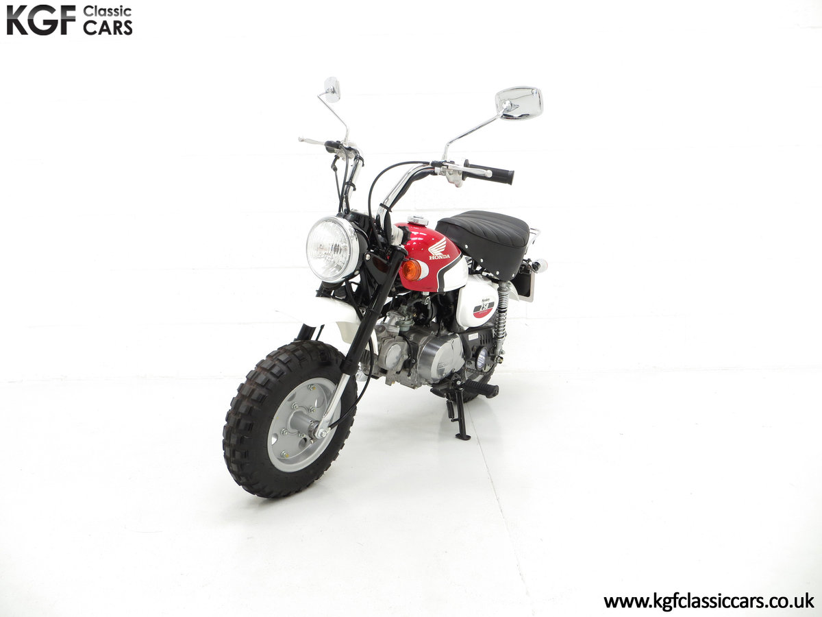 2004 Captain Slow AKA James May's Honda Z50 Monkey Bike For Sale (picture 2 of 6)