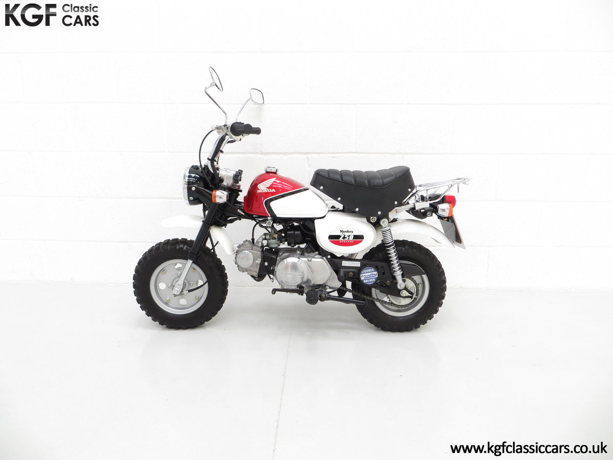 2004 Captain Slow AKA James May's Honda Z50 Monkey Bike For Sale (picture 3 of 6)