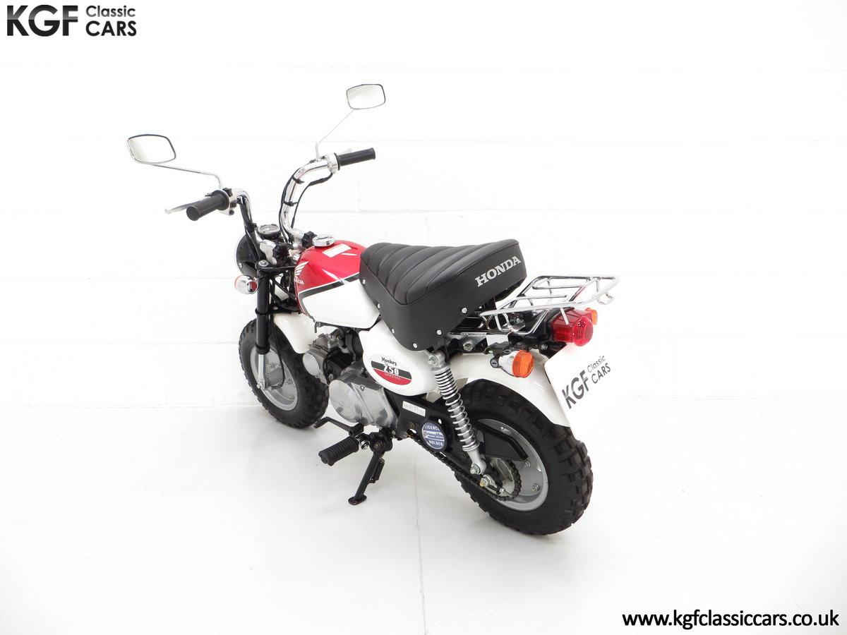 2004 Captain Slow AKA James May's Honda Z50 Monkey Bike SOLD (picture 4 of 6)