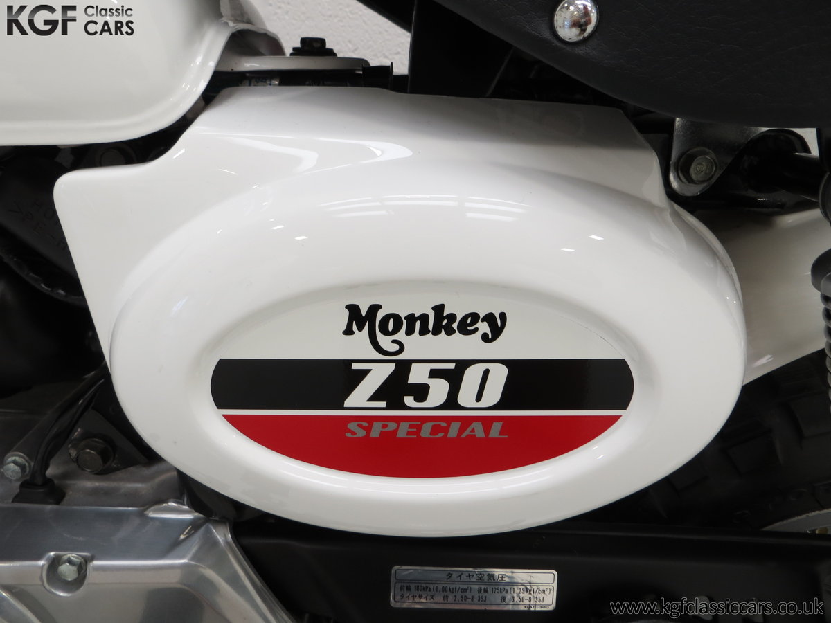 2004 Captain Slow AKA James May's Honda Z50 Monkey Bike For Sale (picture 6 of 6)