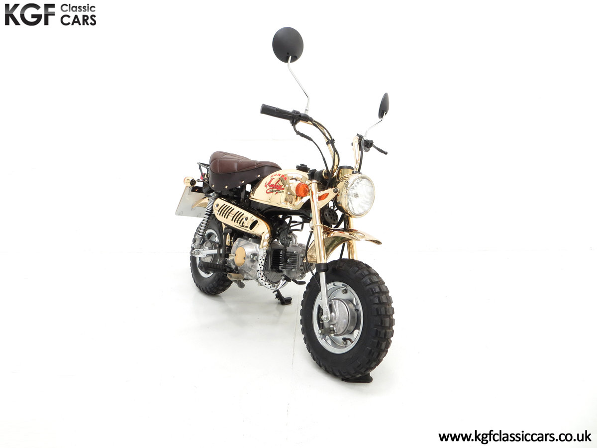 1985 A Collectors Honda Z50JF Monkey Bike Gold Limited Edition SOLD (picture 1 of 6)
