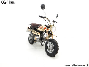 1985 A Collectors Honda Z50JF Monkey Bike Gold Limited Edition