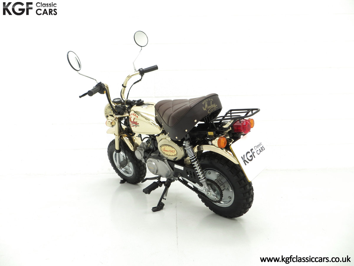 1985 A Collectors Honda Z50JF Monkey Bike Gold Limited Edition SOLD (picture 4 of 6)