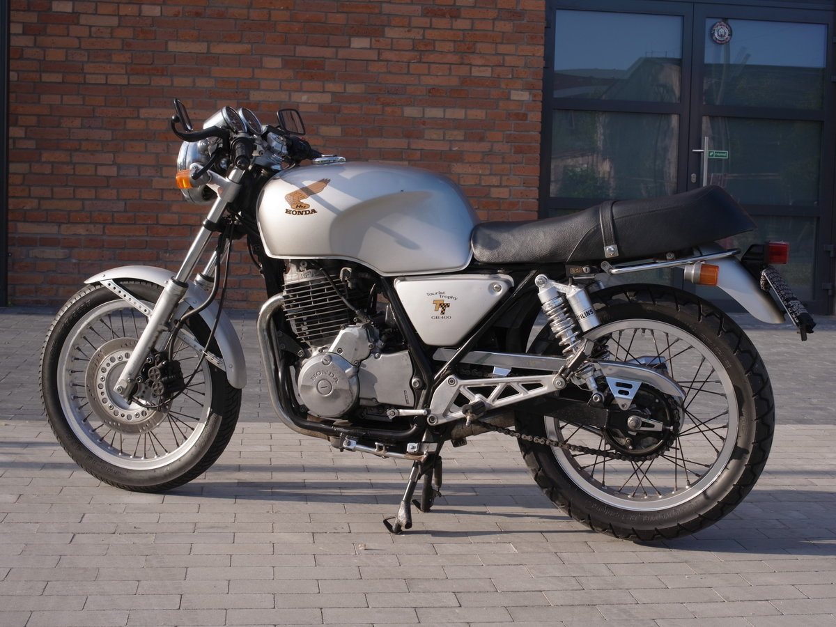 1985 Honda GB 400 TT From Japan Original For Sale by Auction (picture 3 of 6)