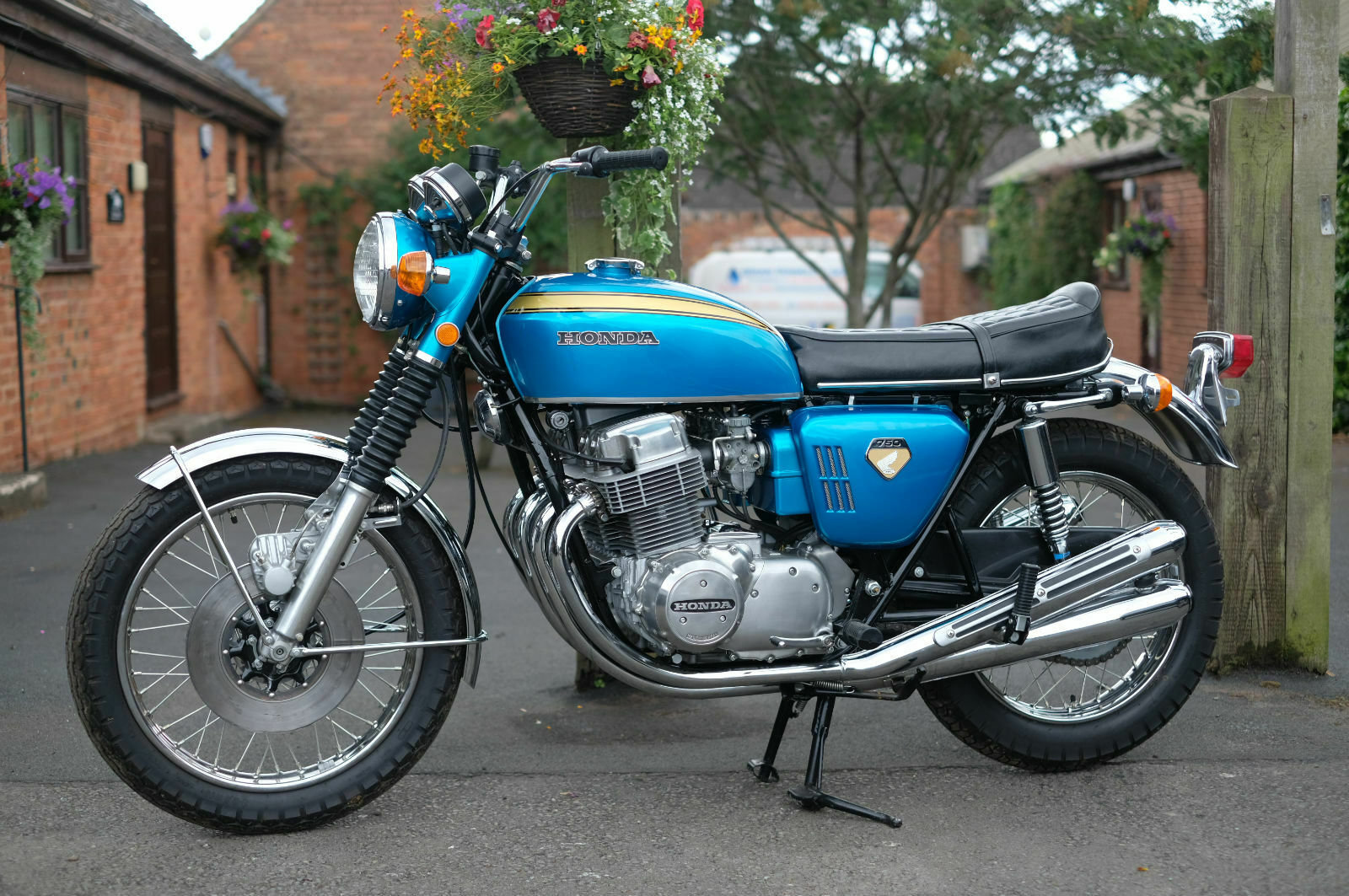 1969 Honda CB750 CB 750 Sandcast No 1378 Staggering restored cond For Sale (picture 5 of 6)
