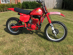 1979 Honda CR250 Red Rocket Lovely condition