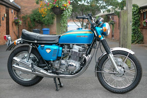 1969 Honda CB750 CB 750 Sandcast No 1378 Staggering restored cond For Sale