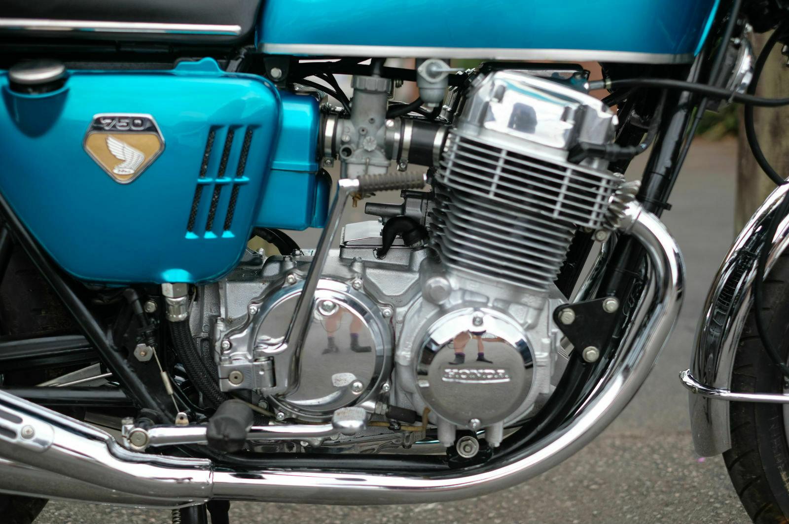 Honda CB750 CB 750 Sandcast 1969 ground up restoration *STUN SOLD (picture 4 of 6)