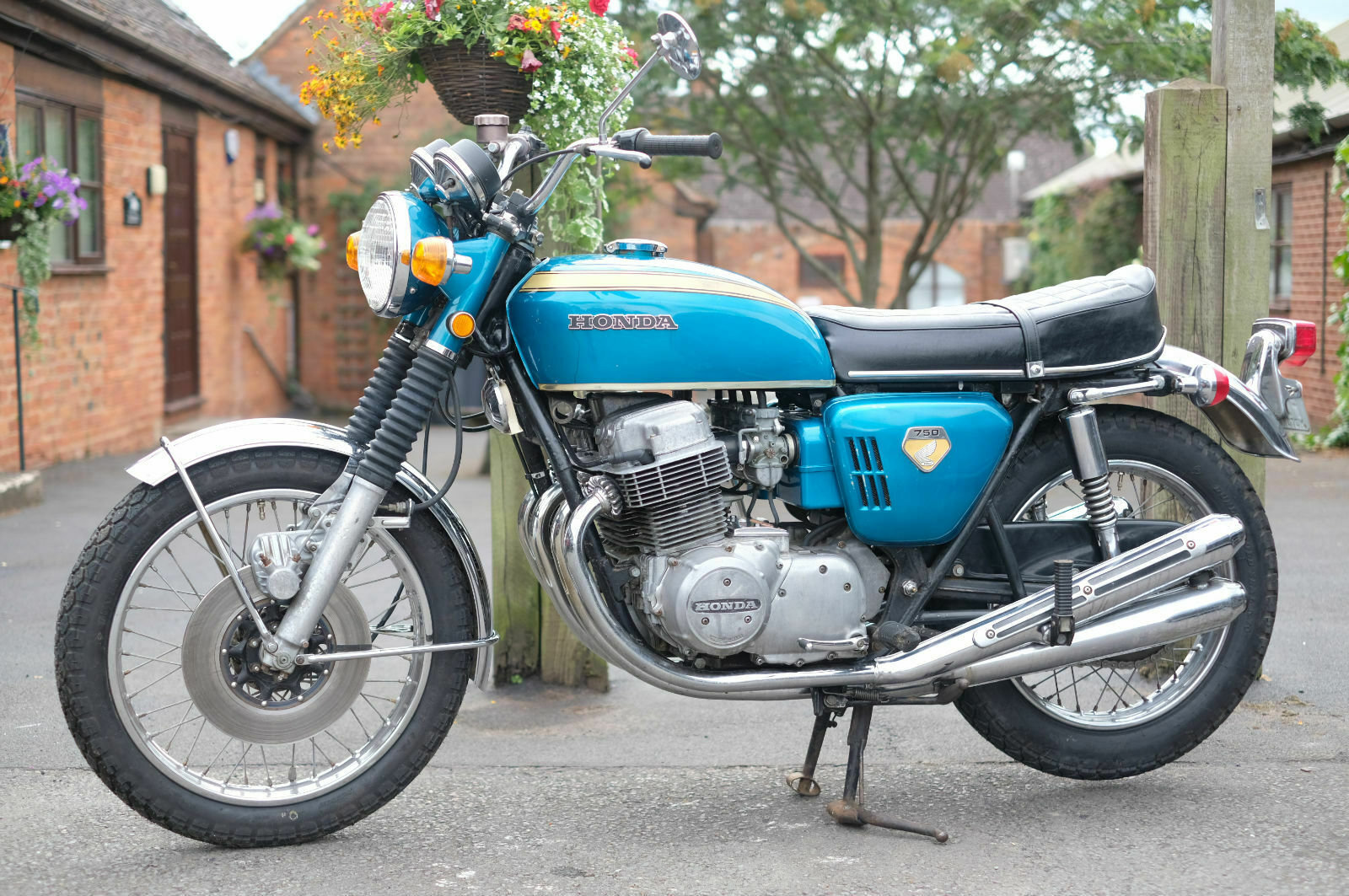 Honda CB750 CB 750 Sandcast May 1969 - Un-restored - All Cor For Sale (picture 2 of 6)