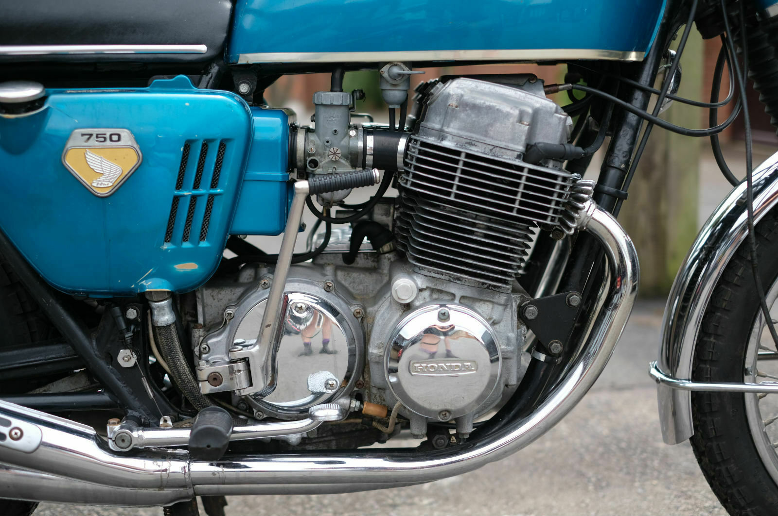 Honda CB750 CB 750 Sandcast May 1969 - Un-restored - All Cor For Sale (picture 4 of 6)