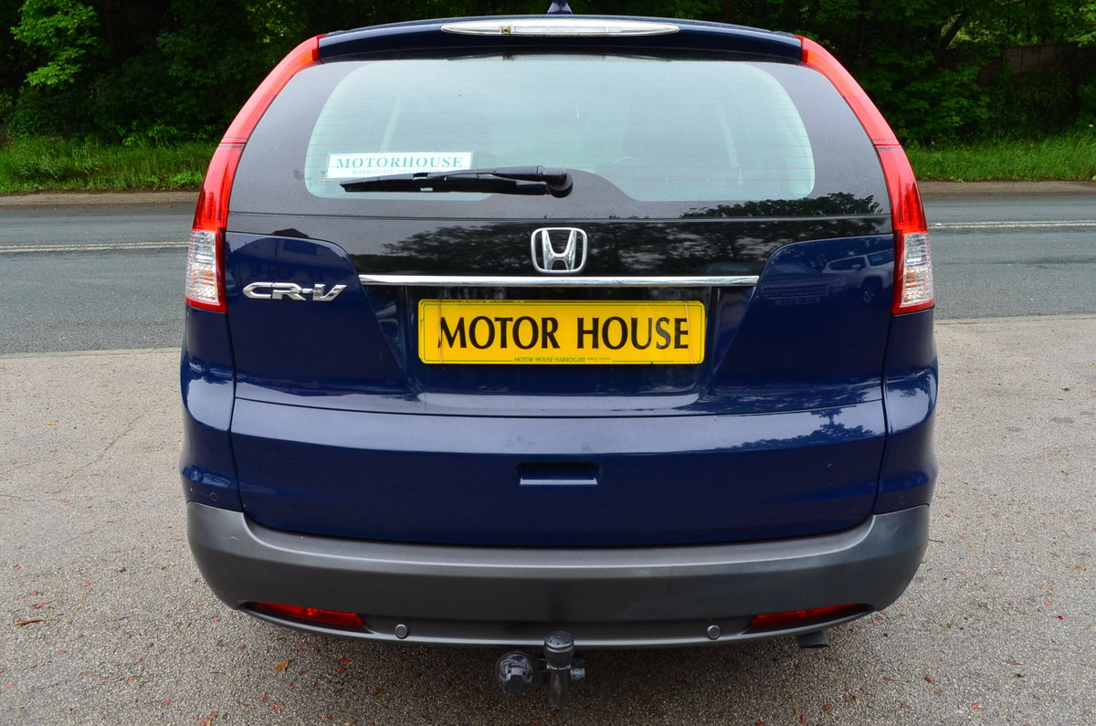 2013 Honda CR-V 2.2 SE 4X4. Only 14,000 Miles For Sale (picture 2 of 6)