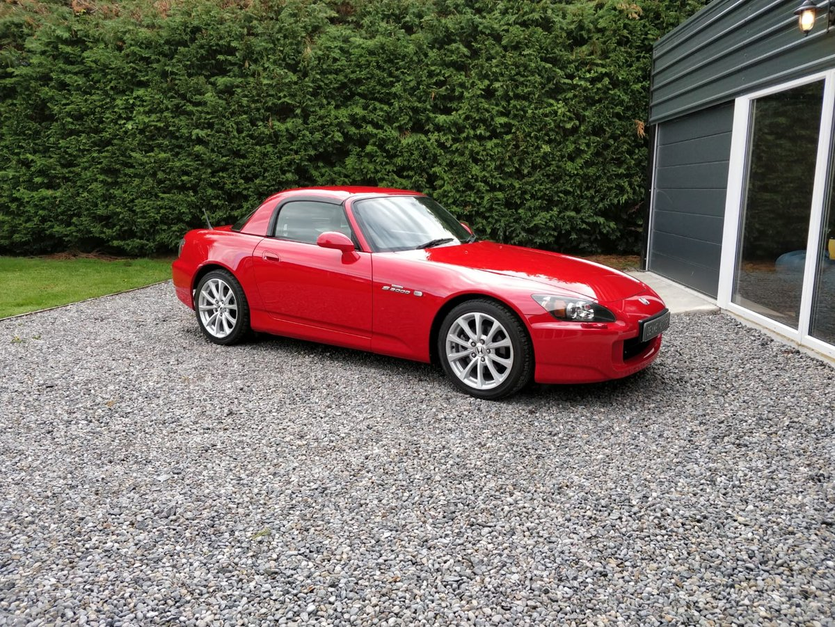 2007 Uk registered, Low Mileage, Honda s2000 For Sale (picture 1 of 6)