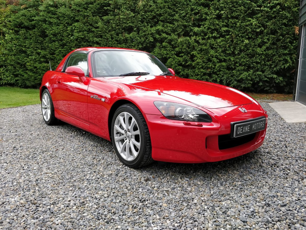 2007 Uk registered, Low Mileage, Honda s2000 For Sale (picture 3 of 6)