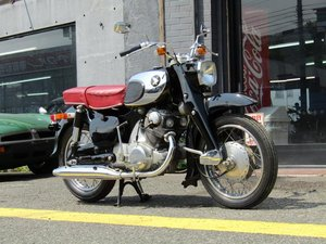 HONDA C72 (1962) from Japan For Sale