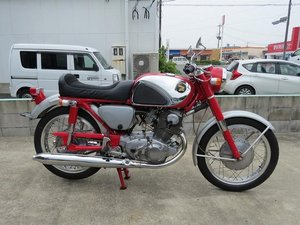 Picture of HONDA CB72 Type 1 250cc (1964) from Japan For Sale
