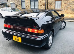 1991 Honda CRX V-TEC SiR JDM, black For Sale