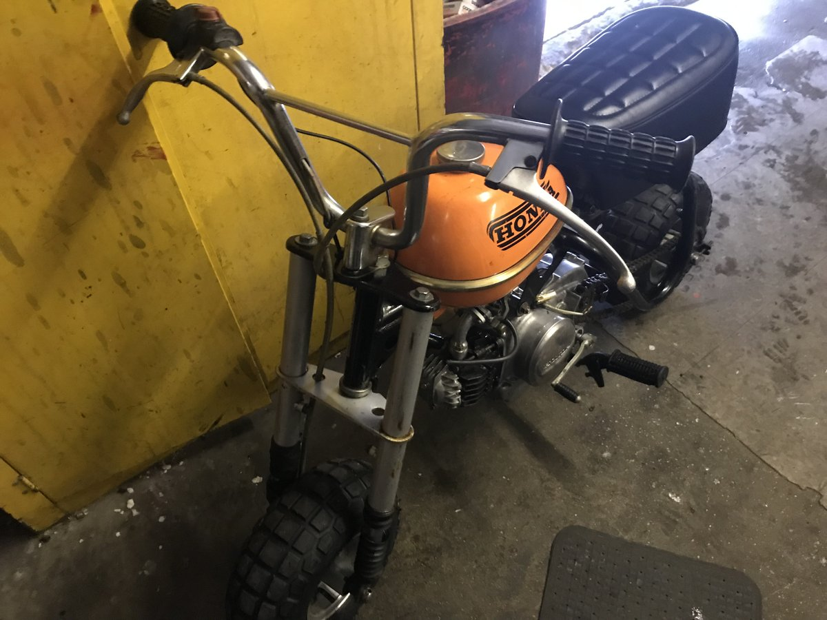 1970 honda monkey 50 qa For Sale (picture 1 of 6)
