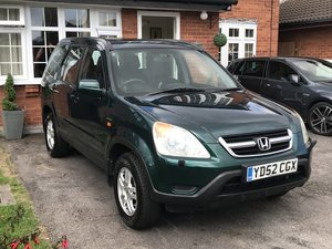 2002 Lovely Honda CRV SE Sport Auto Full SH For Sale