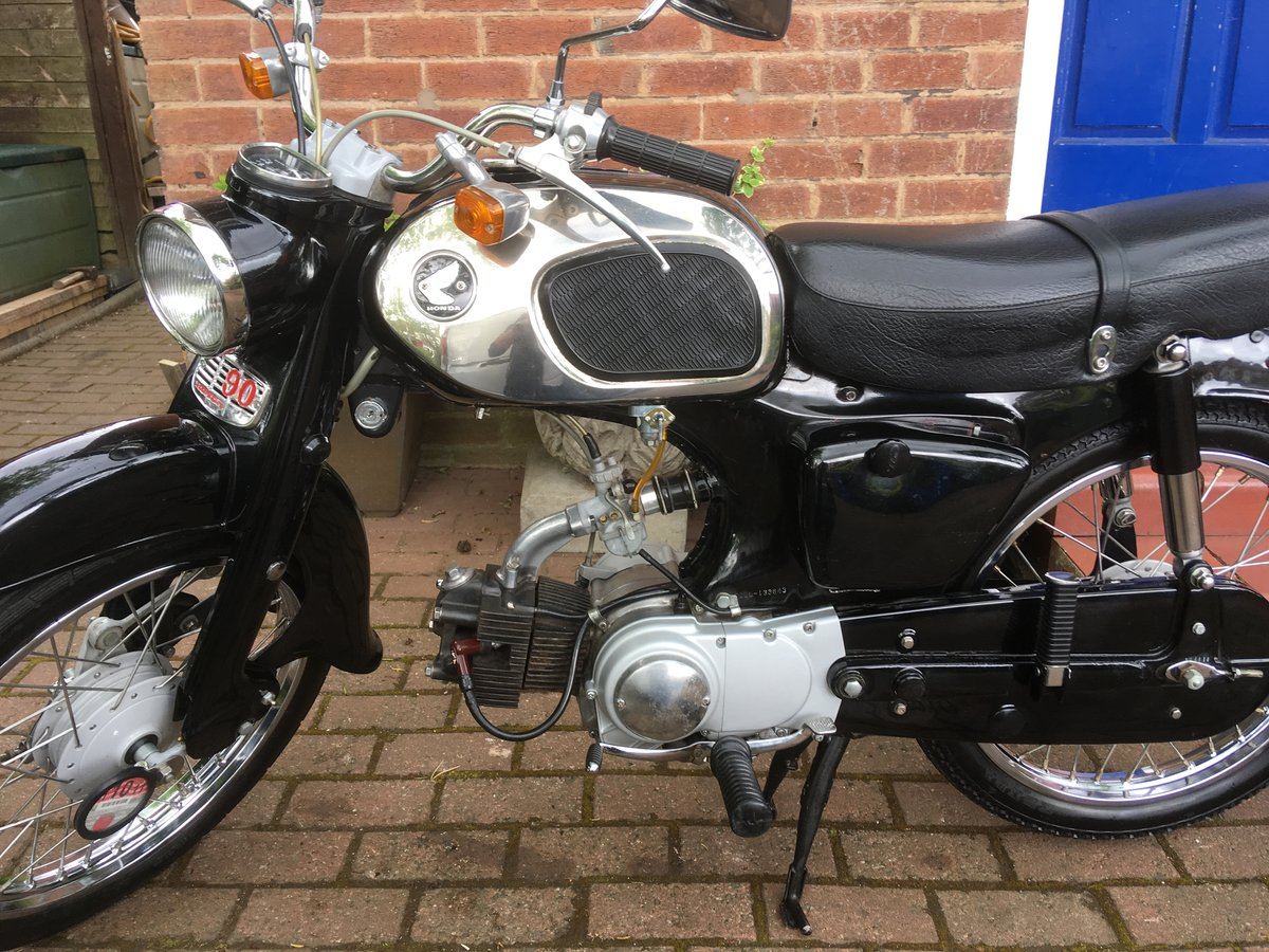 1965 Honda C200 museum piece? For Sale by Auction (picture 1 of 6)