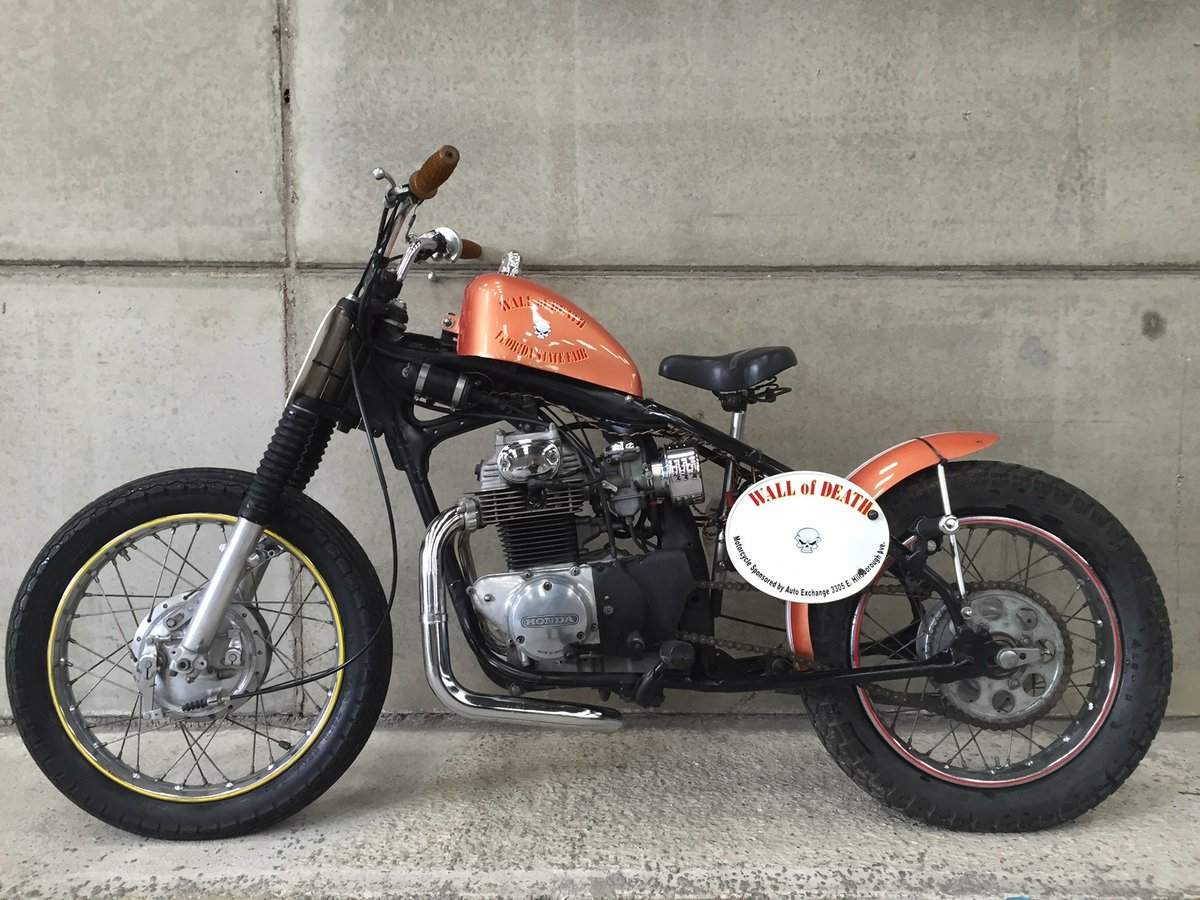 1972 Florida State Circus Wall of Death Motorcycle For Sale (picture 6 of 6)
