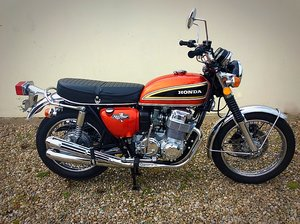1975 HONDA CB750 FOUR - ABSOLUTELY PRISTINE - POSS PX SOLD