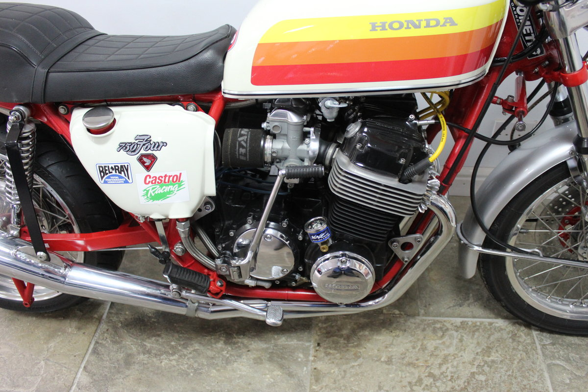 1976  Classic  Honda CB 750 cc Street/Drag Bike Beautifull For Sale (picture 3 of 6)