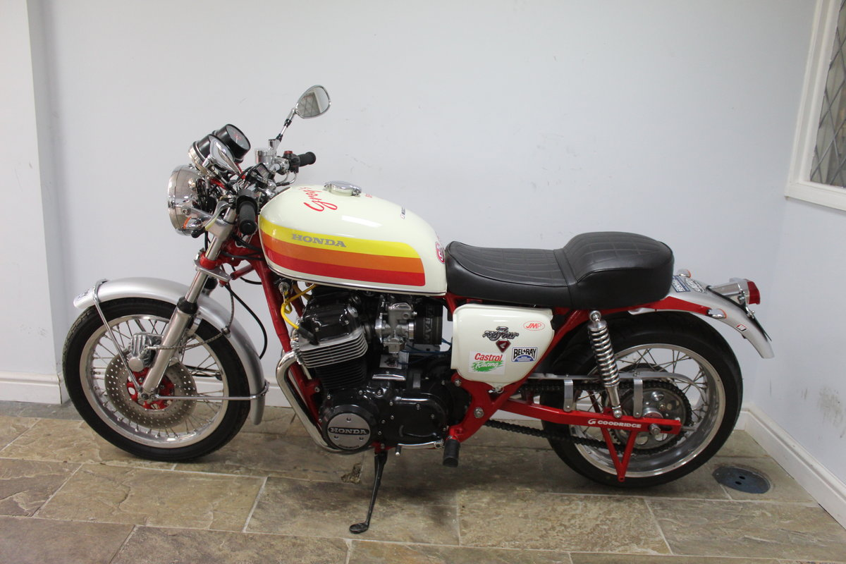 1976  Classic  Honda CB 750 cc Street/Drag Bike Beautifull For Sale (picture 4 of 6)