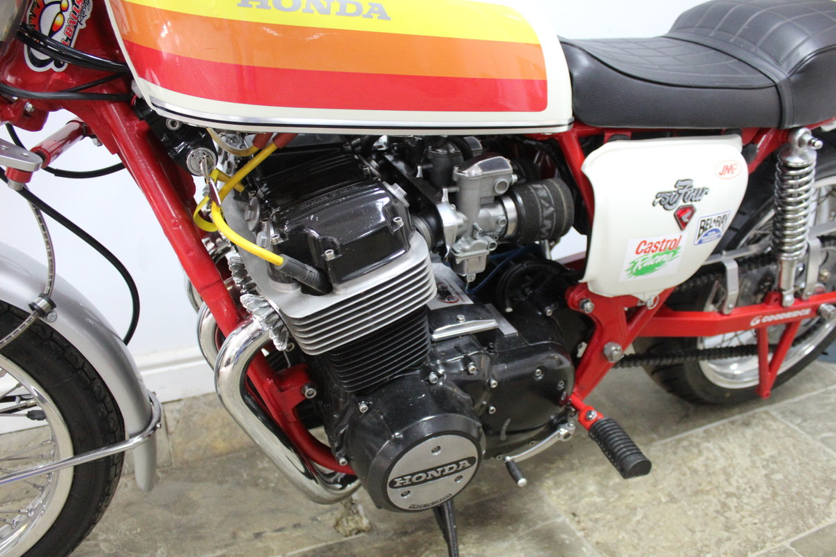 1976  Classic  Honda CB 750 cc Street/Drag Bike Beautifull For Sale (picture 5 of 6)