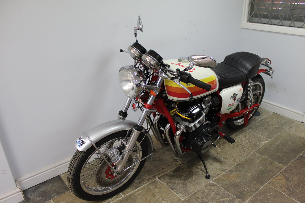 1976  Classic  Honda CB 750 cc Street/Drag Bike Beautifull For Sale (picture 6 of 6)