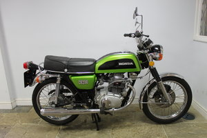 1976 Honda CB200 Beautiful Example restored 2016 , SOLD