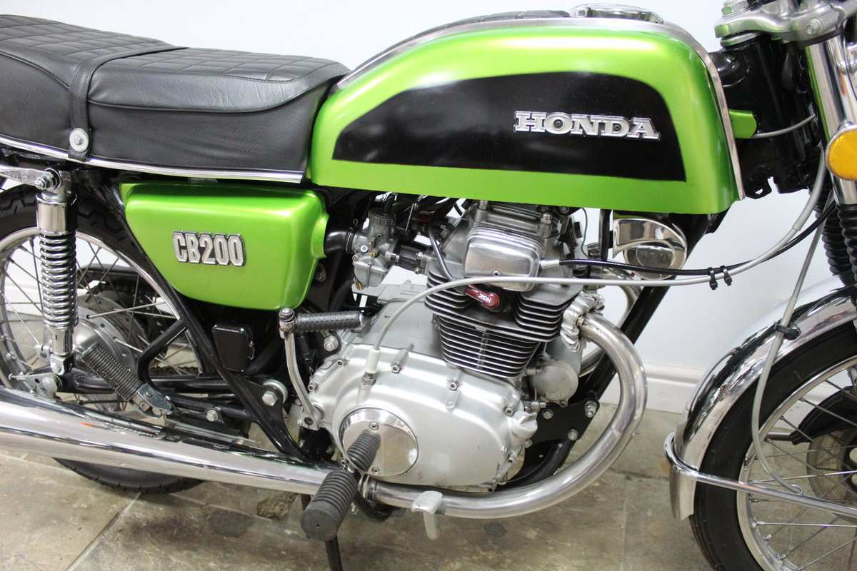 1976 Honda CB200 Beautiful Example restored 2016 , SOLD (picture 2 of 6)