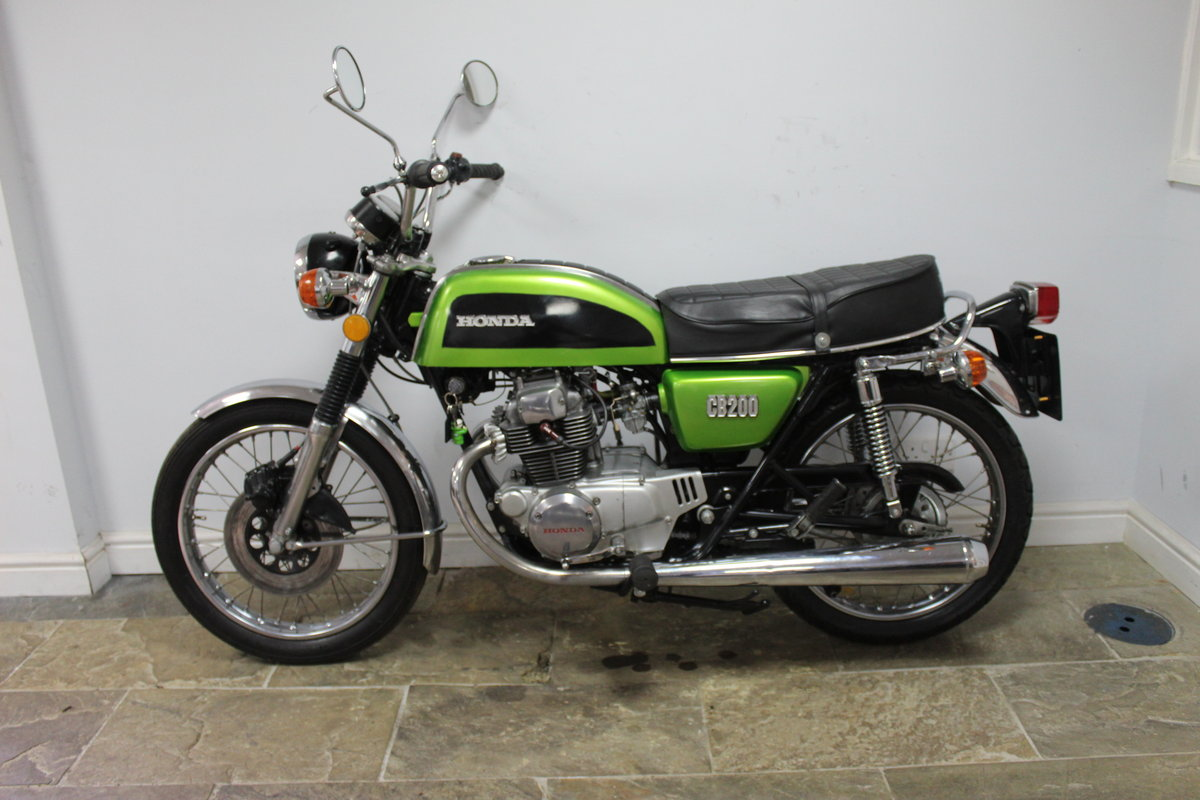 1976 Honda CB200 Beautiful Example restored 2016 , SOLD (picture 4 of 6)