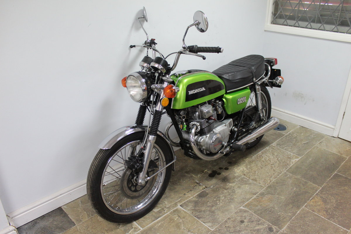 1976 Honda CB200 Beautiful Example restored 2016 , SOLD (picture 5 of 6)