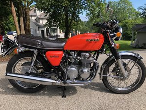 1976 CB550F very low mileage