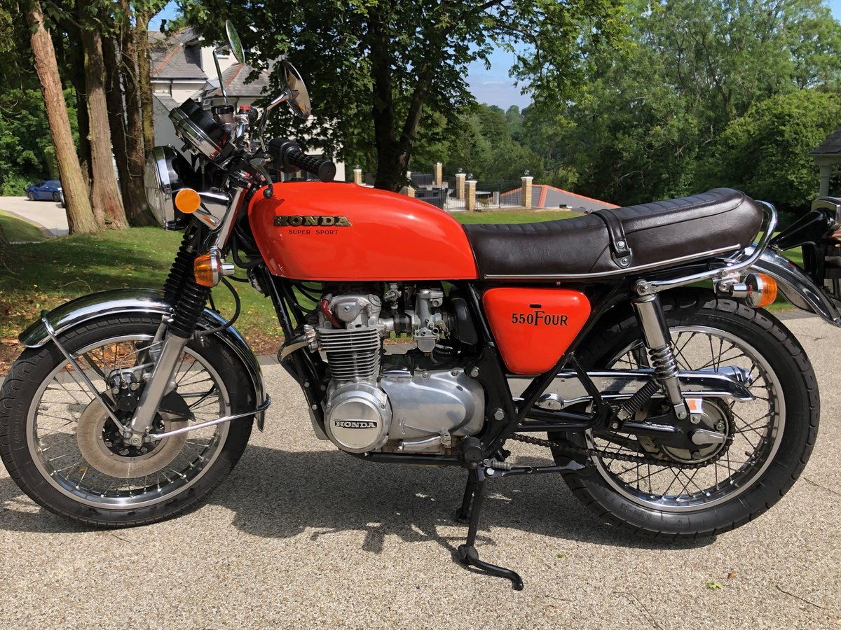 1976 CB550F very low mileage SOLD (picture 2 of 6)