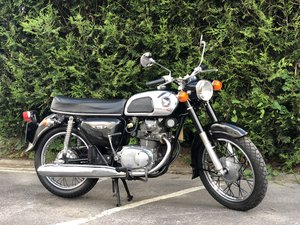 Honda CD 175 1978 Very Original SOLD