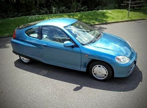 Honda Insight Ze 1 2002 Hybrid Blue For Sale (picture 1 of 6)