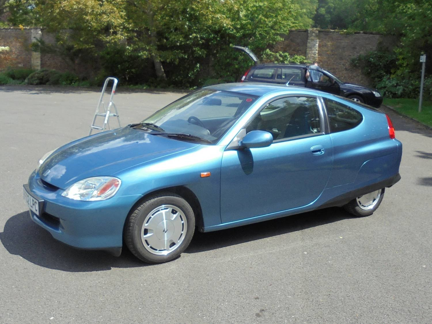 Honda Insight Ze 1 2002 Hybrid Blue For Sale (picture 2 of 6)