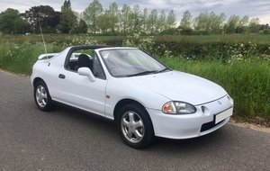 1992 Honda CRX 1.6i ESi VTEC  Convertible 55000 FSH For Sale