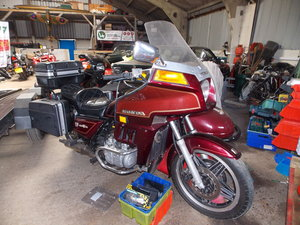 Picture of 1982 Goldwing with Watsonian S/car - Barons Tues 16th July 2019 SOLD by Auction