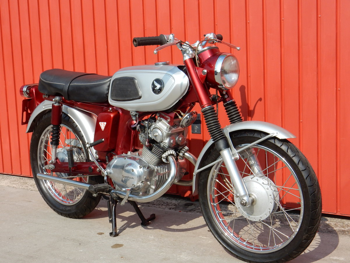 Honda SS125  1970    For Sale (picture 1 of 6)