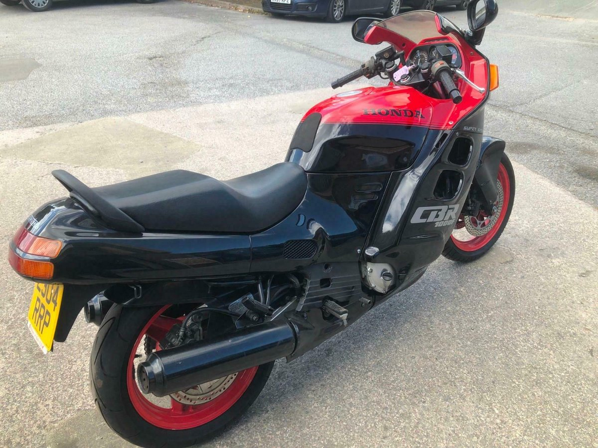 HONDA CBR 1000F SUPER SPORT 1988 STOCK CLEARANCE For Sale (picture 3 of 6)