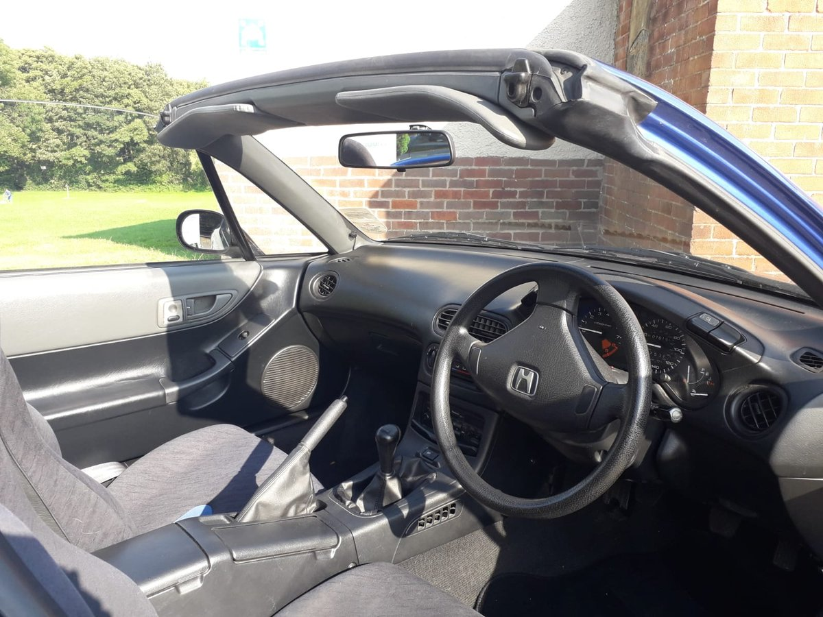 1994 Honda CRX Convertible 5spd 76k Very good condition SOLD (picture 2 of 6)