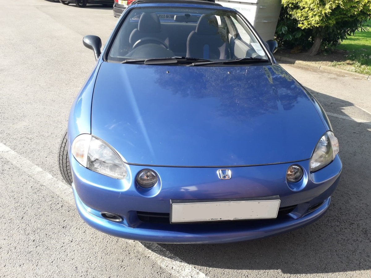1994 Honda CRX Convertible 5spd 76k Very good condition SOLD (picture 3 of 6)