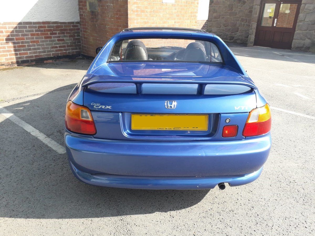 1994 Honda CRX Convertible 5spd 76k Very good condition SOLD (picture 4 of 6)